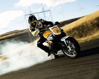 Обои на телефон мотоцикл, дрифт, drift 2