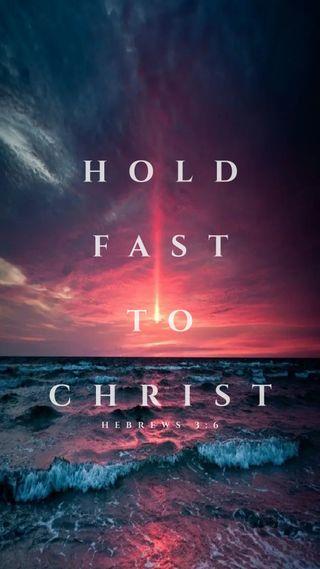 Обои на телефон церковь, доверять, христос, храбрость, религия, религиозные, океан, исус, закат, вера, бог, hold fast to christ