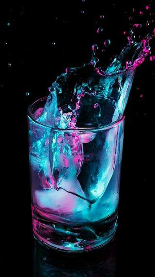 Обои на телефон напиток, стекло, крутые, красочные, cool drink