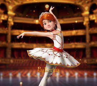 Обои на телефон дети, франция, фильмы, мультфильмы, девушки, zedgeballerina, ballet, ballerina movie