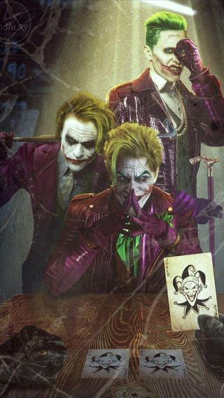 Обои на телефон карты, фильмы, фильм, рисунки, персонажи, зеленые, джокер, волосы, jokers, joker card, hahaha, green hair