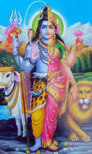 Обои на телефон религиозные, шива, бог, god shiva