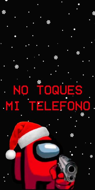 Обои на телефон рождество, амонгас, амонг, us, amonguschristmas