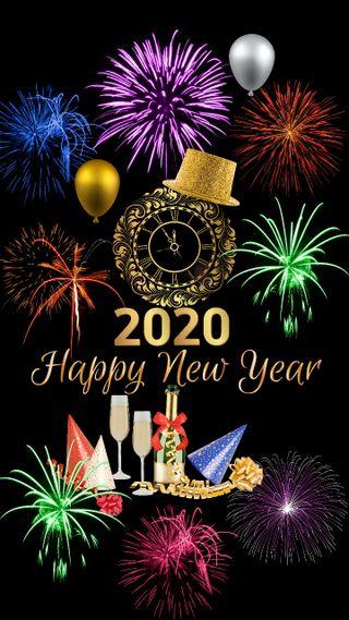 Обои на телефон год, счастливые, новый, дизайн, holliday, happy, 2020