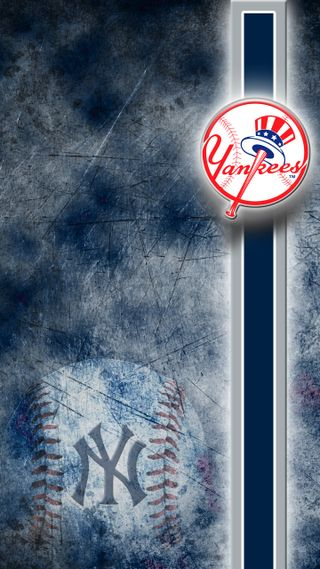 Обои на телефон янки, синие, серые, нью йорк, новый, город, бейсбол, ny yankees, mlb