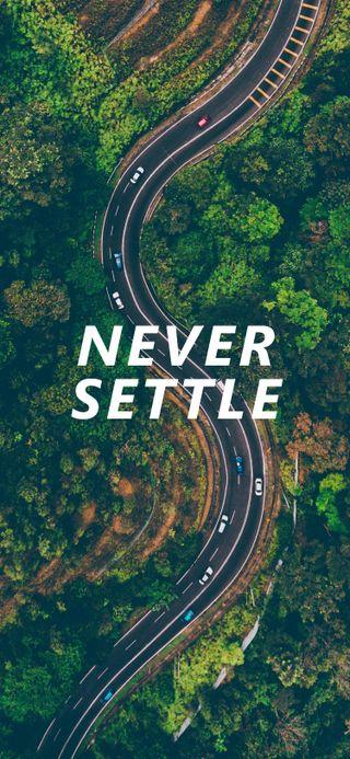 Обои на телефон решить, природа, никогда, айфон, never settle 2, never settle, iphone x, iphone, drone, aerial