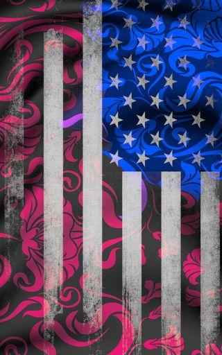 Обои на телефон флаги, цветы, флаг, сша, армия, американские, америка, usa, us