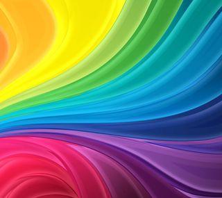 Обои на телефон полосы, радуга, абстрактные, rainbow stripes