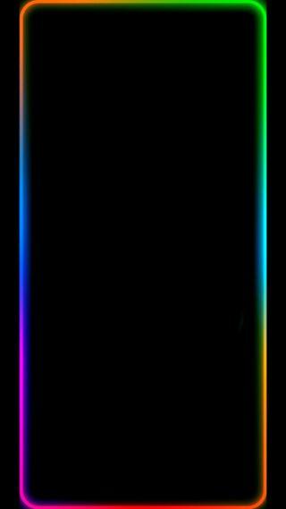 Обои на телефон экран, цветные, грани, colored outline