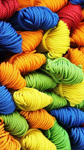 Обои на телефон айфон 5, цветные, красочные, айфон 6, yarn, colorful yarn