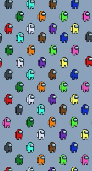 Обои на телефон красочные, игры, амонгас, амонг, among us crewmates 2, among us crewmates, among us crewmate, among us colorful