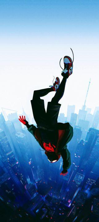 Обои на телефон человек паук, паук, новый, мальчик, майлз, аниме, new anime