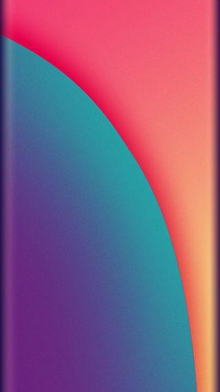 Обои на телефон фиолетовые, оранжевые, красочные, красота, грани, абстрактные, s8, s7