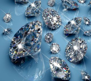 Обои на телефон сияние, синие, свет, бриллианты, богатые