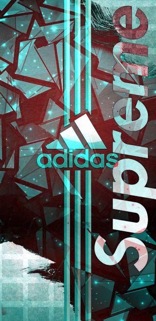 Обои на телефон логотипы, адидас, adidas supreme, adidas