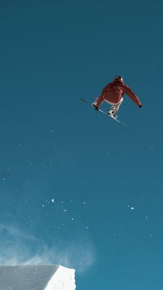 Обои на телефон jump high, зима, игры, высокий, скейт, прыгать, олимпиада, корея, лыжи