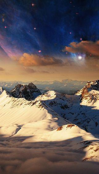 Обои на телефон фото, природа, горы