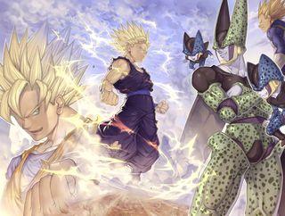 Обои на телефон эпичные, драгонболл, мяч, дракон, гохан, гоку, son gohan, kakarotto, dragonball z epic, dragon ball z