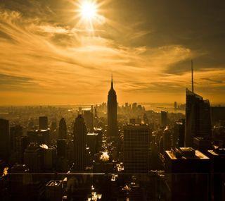 Обои на телефон нью йорк, новый, манхэттен, йорк, империя, new york 1, empire state