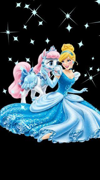 Обои на телефон принцесса, золушка, princesa, cinderella princess