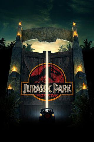 Обои на телефон юрский, парк, фильмы, темные, мир, логотипы, динозавр, whatsapp