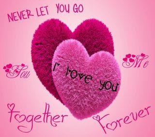 Обои на телефон чувства, ты, сердце, розовые, никогда, навсегда, мой, любовь, всегда, вместе, go