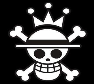 Обои на телефон пираты, луффи, король, аниме, pirate king luffy, jolly roger
