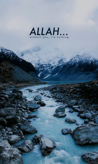 Обои на телефон blue ice, hamba, hijrah, love, sunnah, любовь, синие, пейзаж, зима, бог, аллах, лед