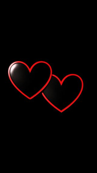 Обои на телефон сердце, любовь, красые, love, double hearted