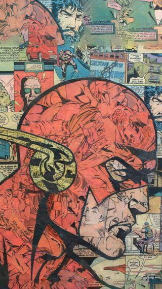 Обои на телефон флэш, супергерои, мстители, марвел, красые, комиксы, marvel