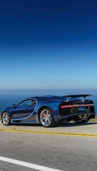 Обои на телефон чирон, бугатти, скорость, синие, машины, бесконечность, infinity, bugatti chiron, bugatti