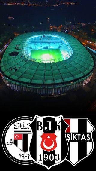 Обои на телефон чемпион, стадион, бесикташ, ночь, vodafone, bjk masaustu, bjk, arena