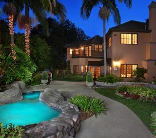 Обои на телефон особняк, здания, дом, роскошные, ночь, luxury night, luxury
