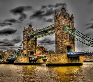 Обои на телефон лондон, приятные, мост, красота, классные, закат, город, вид