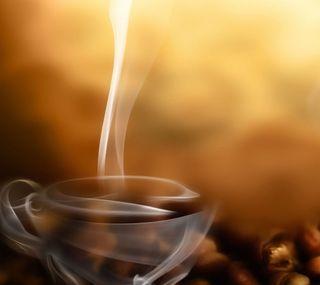 Обои на телефон чашка, кофе, дым, cup of coffee, cup