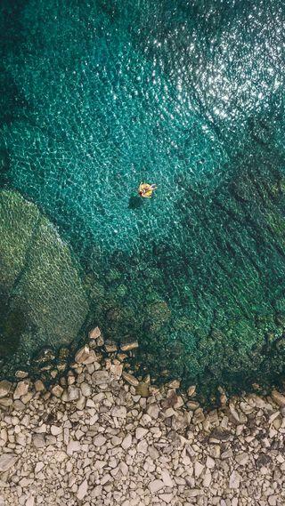 Обои на телефон эпл, пляж, вода, айфон, айпад, iphone, ios 11 - 2, ios 11, ios, apple