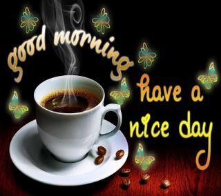 Обои на телефон утро, день, приятные, поговорка, новый, крутые, have a nice day, good day