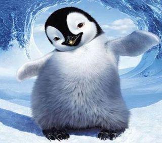 Обои на телефон танец, счастливые, пингвин, happy feet