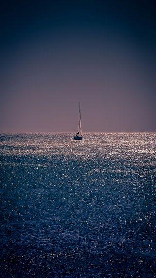 Обои на телефон лодки, черные, темные, сцена, огни, ночь, море, любовь, классные, sailor, love