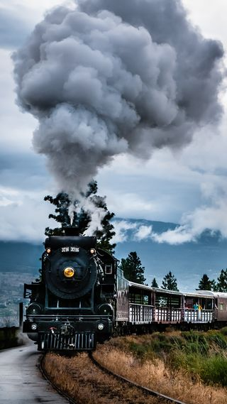 Обои на телефон стим, поезда, trains, steam train