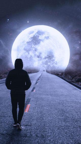 Обои на телефон планеты, планета, одиночество, космос, звезда