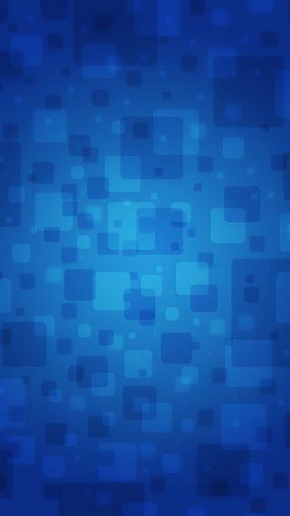Обои на телефон квадраты, синие, абстрактные
