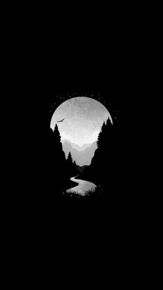Обои на телефон солнечный, черные, солнце, система, планета, ночь, луна, единорог, дорога, волк, белые