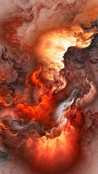 Обои на телефон природа, пейзаж, огонь, любовь, вид, абстрактные, love