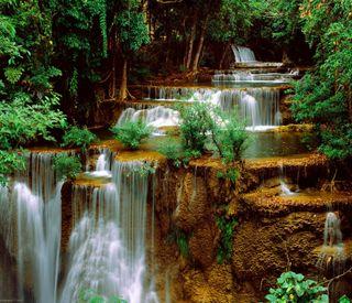 Обои на телефон водопад, удивительные, природа, amazing cascade