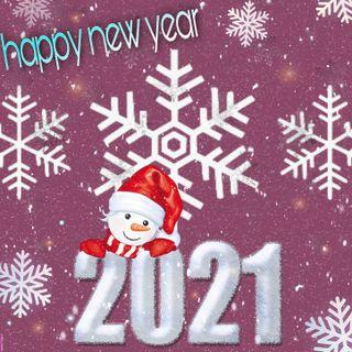Обои на телефон новый, красота, год, new year 2021