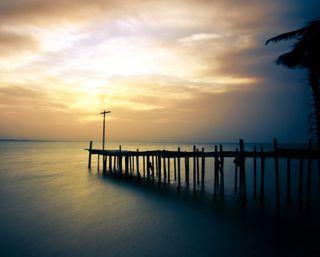 Обои на телефон тишина, тень, рассвет, пейзаж, океан, озеро, море, twiight, silence landscape