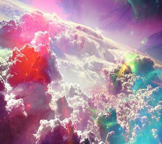Обои на телефон облачно, облака, небо