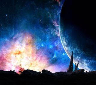 Обои на телефон мир, галактика, galaxy