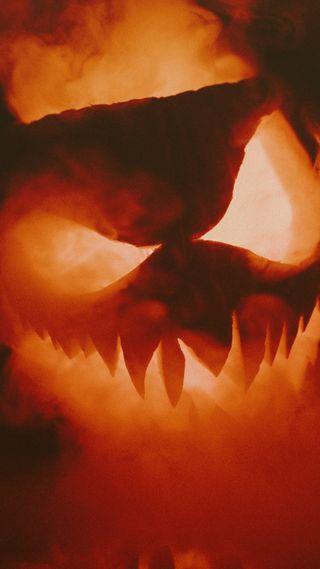 Обои на телефон тыква, хэллоуин, осень, zedgepumps18, smoky jackolantern, gourds